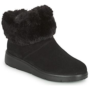 鞋子 女士 短筒靴 Geox 健乐士 ARLARA 黑色