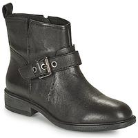 鞋子 女士 短靴 Geox 健乐士 CATRIA 黑色