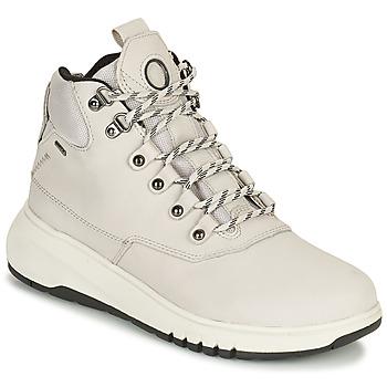 鞋子 女士 短筒靴 Geox 健乐士 AERANTIS 灰色