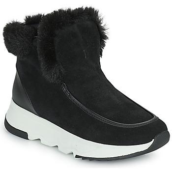 鞋子 女士 短筒靴 Geox 健乐士 FALENA 黑色