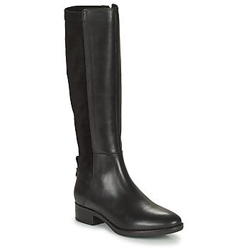 鞋子 女士 都市靴 Geox 健乐士 FELICITY 黑色