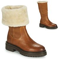 鞋子 女士 短筒靴 Geox 健乐士 IRIDEA 棕色