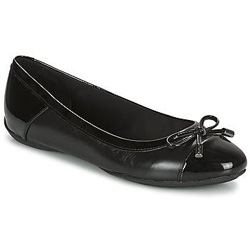 鞋子 女士 平底鞋 Geox 健乐士 CHARLENE 黑色