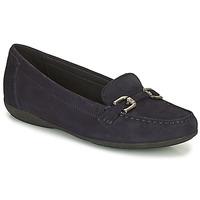 鞋子 女士 皮便鞋 Geox 健乐士 ANNYTAH 海蓝色