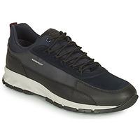 鞋子 男士 球鞋基本款 Geox 健乐士 DELRAY WPF 海蓝色 / 黑色