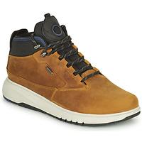 鞋子 男士 短筒靴 Geox 健乐士 AERANTIS 驼色