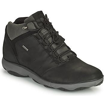 鞋子 男士 短筒靴 Geox 健乐士 NEBULA 黑色