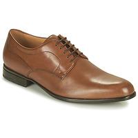 鞋子 男士 德比 Geox 健乐士 IACOPO 棕色