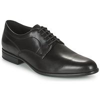 鞋子 男士 德比 Geox 健乐士 IACOPO 黑色