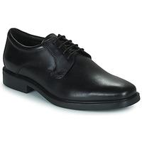 鞋子 男士 德比 Geox 健乐士 BRANDOLF 黑色
