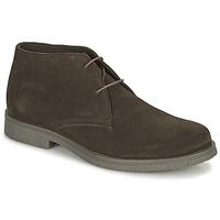 鞋子 男士 短筒靴 Geox 健乐士 CLAUDIO 棕色