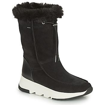 鞋子 女士 雪地靴 Geox 健乐士 FALENA ABX 黑色