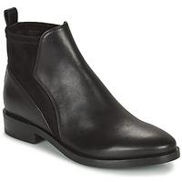 鞋子 女士 短筒靴 Geox 健乐士 DONNA BROGUE 黑色