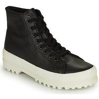 鞋子 女士 高帮鞋 Superga 2341 ALPINA NAPPA 黑色