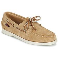 鞋子 女士 船鞋 Sebago 仕品高 PORTLAND FLESH OUT W 米色