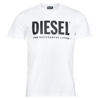 衣服 男士 短袖体恤 Diesel 迪赛尔 T-DIEGOS-ECOLOGO 白色
