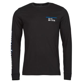 衣服 男士 长袖T恤 Diesel 迪赛尔 T-DIEGOS-LS-K25 黑色