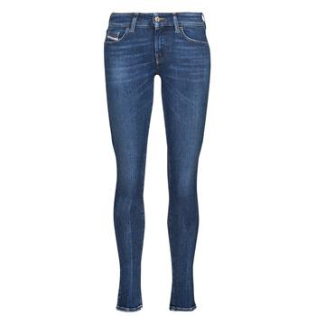 衣服 女士 牛仔铅笔裤 Diesel 迪赛尔 SLANDY-LOW 蓝色 / Fonce