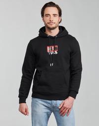 衣服 男士 卫衣 Diesel 迪赛尔 S-GIRK-HOOD-B8 黑色