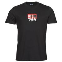 衣服 男士 短袖体恤 Diesel 迪赛尔 T-DIEGOS-B10 黑色