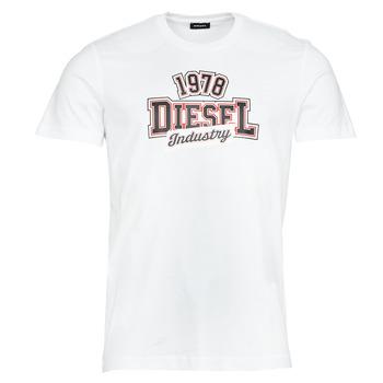 衣服 男士 短袖体恤 Diesel 迪赛尔 T-DIEGOS-K26 白色