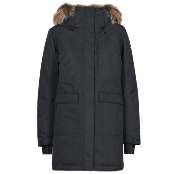 衣服 女士 棉衣 Columbia 哥伦比亚 LITTLE SI INSULATED PARKA 黑色