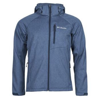 衣服 男士 夹克 Columbia 哥伦比亚 CASCADE RIDGE II SOFTSHELL 海蓝色