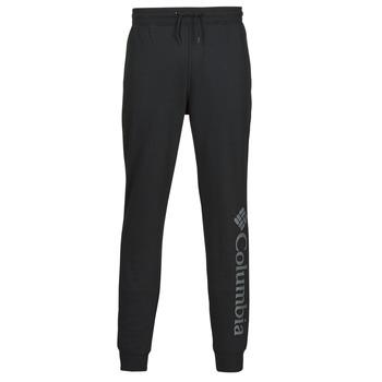 衣服 男士 厚裤子 Columbia 哥伦比亚 M CSC LOGO FLEECE JOGGER II 黑色 / 灰色
