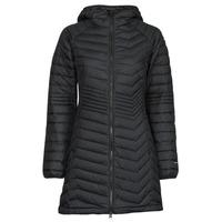 衣服 女士 羽绒服 Columbia 哥伦比亚 POWDER LITE MID JACKET 黑色