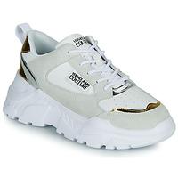 鞋子 女士 球鞋基本款 Versace Jeans FREMMI 白色 / 金色 / 银色