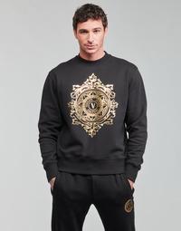 衣服 男士 卫衣 Versace Jeans VEMBLEM LEAF 黑色 / 金色