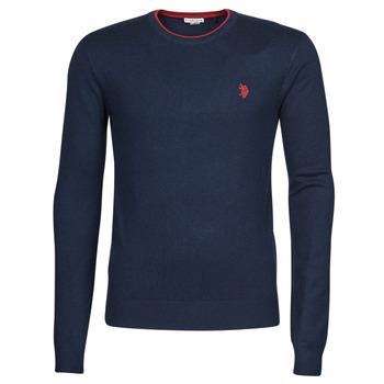 衣服 男士 羊毛衫 U.S Polo Assn. 美国马球协会 ALF 53147 EH03 蓝色