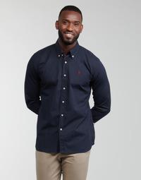 衣服 男士 长袖衬衫 U.S Polo Assn. 美国马球协会 DIRK 51371 EH03 海蓝色