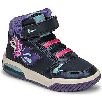 鞋子 女孩 高帮鞋 Geox 健乐士 INEK 紫罗兰