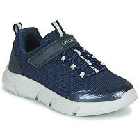 鞋子 女孩 球鞋基本款 Geox 健乐士 ARIL 蓝色