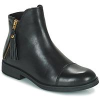 鞋子 女孩 短筒靴 Geox 健乐士 AGATO 黑色