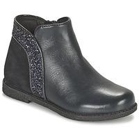 鞋子 女孩 短筒靴 Geox 健乐士 SHAWNTEL 海蓝色
