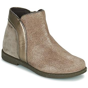 鞋子 女孩 短筒靴 Geox 健乐士 SHAWNTEL 金色