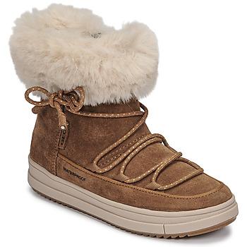 鞋子 女孩 短筒靴 Geox 健乐士 REBECCA WPF 驼色