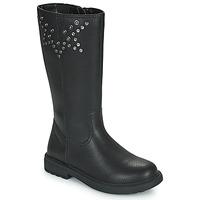 鞋子 女孩 都市靴 Geox 健乐士 ECLAIR 黑色