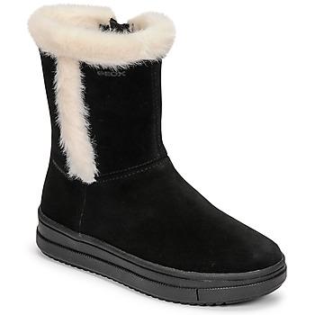 鞋子 女孩 都市靴 Geox 健乐士 REBECCA 黑色 / 白色