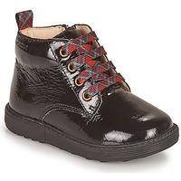 鞋子 女孩 短筒靴 Geox 健乐士 HYNDE 黑色