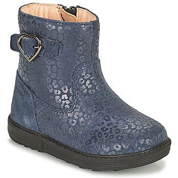 鞋子 女孩 都市靴 Geox 健乐士 HYNDE 蓝色