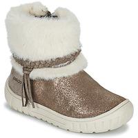 鞋子 女孩 都市靴 Geox 健乐士 OMAR 棕色
