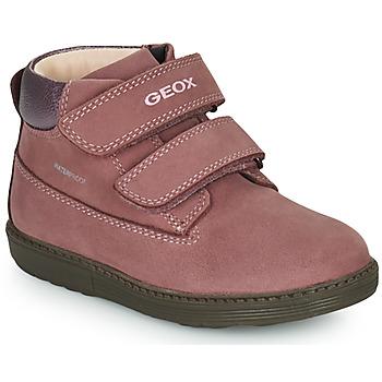鞋子 女孩 短筒靴 Geox 健乐士 HYNDE WPF 玫瑰色
