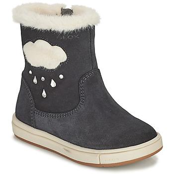 鞋子 女孩 都市靴 Geox 健乐士 TROTTOLA 黑色
