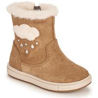 鞋子 女孩 都市靴 Geox 健乐士 TROTTOLA 棕色