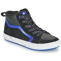 鞋子 男孩 高帮鞋 Geox 健乐士 ALONISSO 黑色 / 海蓝色