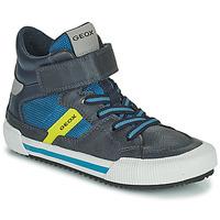 鞋子 男孩 高帮鞋 Geox 健乐士 ALONISSO 蓝色