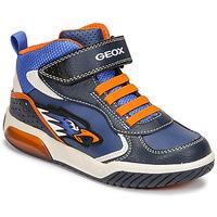 鞋子 男孩 高帮鞋 Geox 健乐士 INEK 蓝色 / 橙色